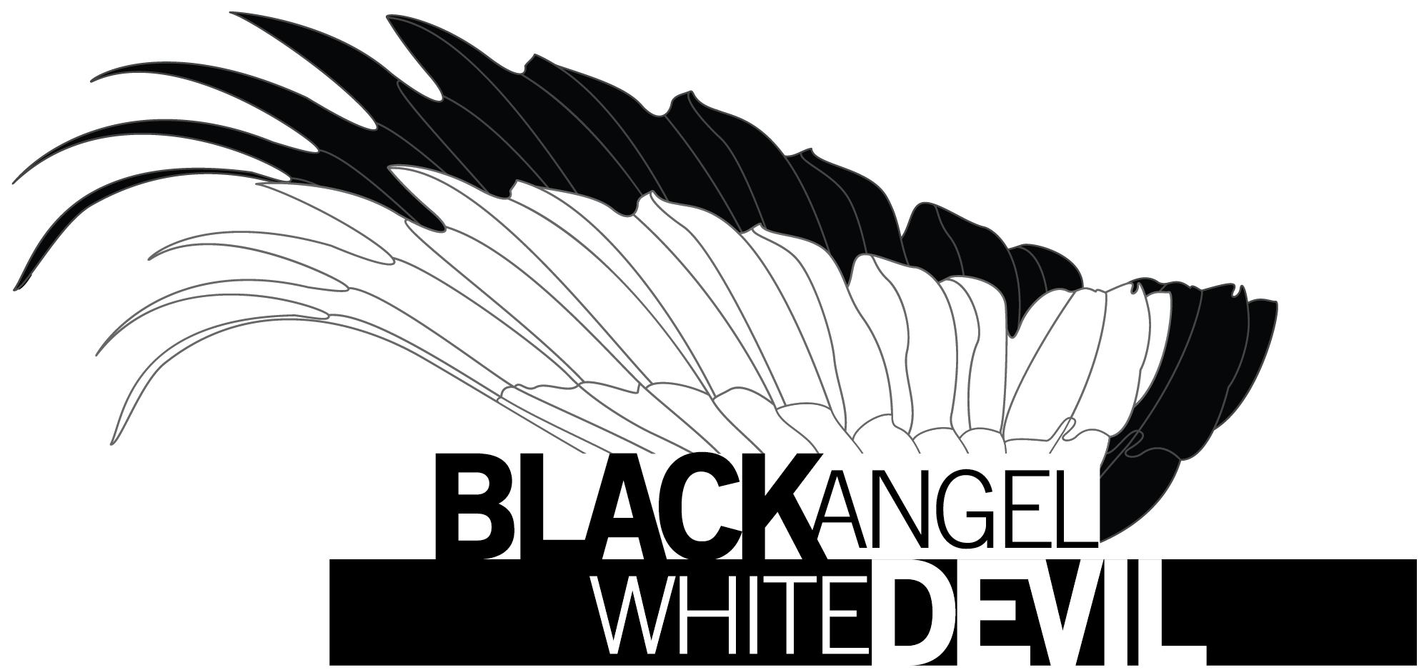 Style Leathers - Black Angel White Devil